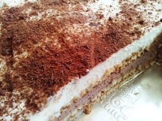 עוגת ביסקוויטים טעימה וקלה להכנה