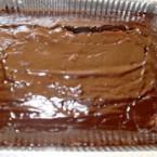 עוגת שוקולד עם ציפוי