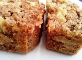 עוגת תפוחים ללא סוכר
