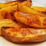 פלחי תפוחי אדמה אפויים