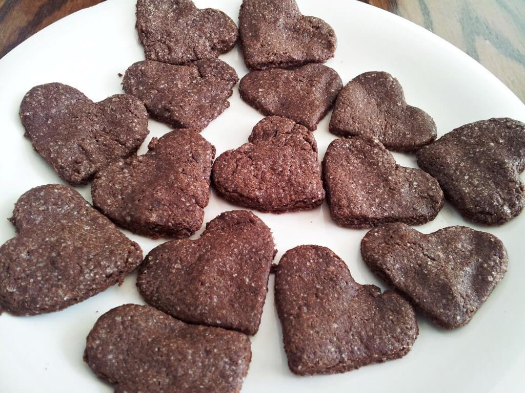 עוגיות שוקולד מקמח מלא