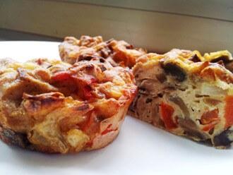 פשטידת פטריות וגמבה