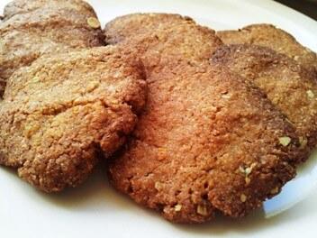 עוגיות טחינה קוקוס