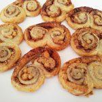 עוגיות קינמון מבצק עלים