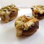 פטריות ממולאות גבינה