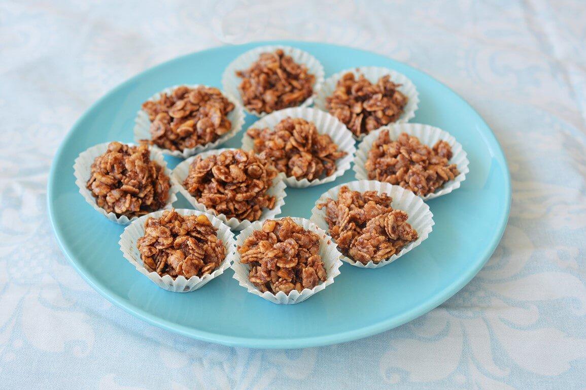 חטיף פצפוצי אורז ושוקולד