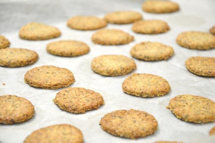 עוגיות פרג ולימון