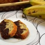 עוגת בננות ושוקולד