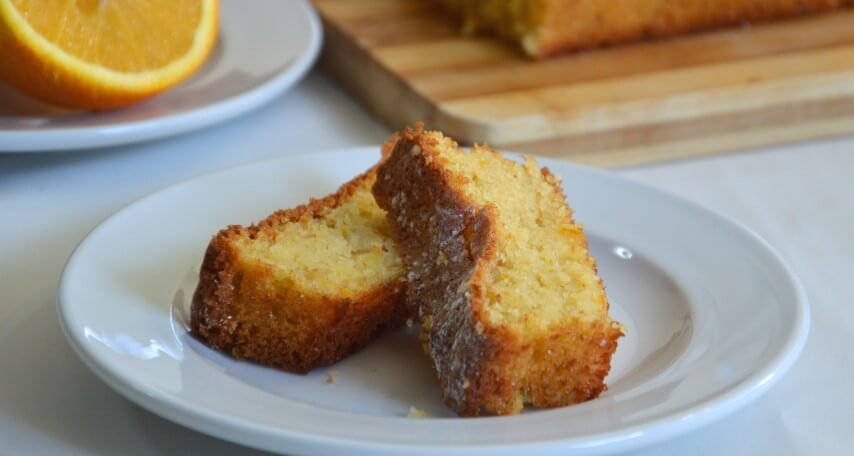 עוגת תפוזים מקמח שקדים