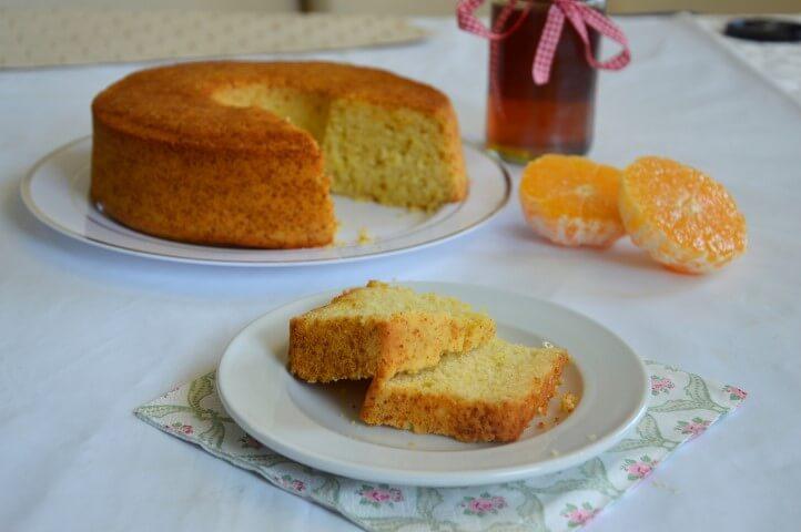 עוגת תפוזים ודבש