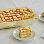 עוגת ביסקוויטים ריבת חלב