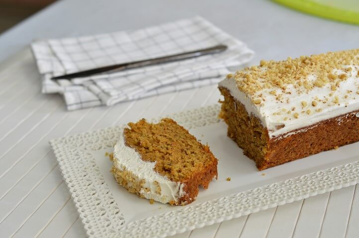 עוגת גזר טבעונית
