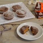 מאפינס בראוניז במילוי שוקולד