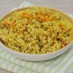 אורז מלא עם מש