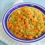 מתכון לחיטה עם ירקות