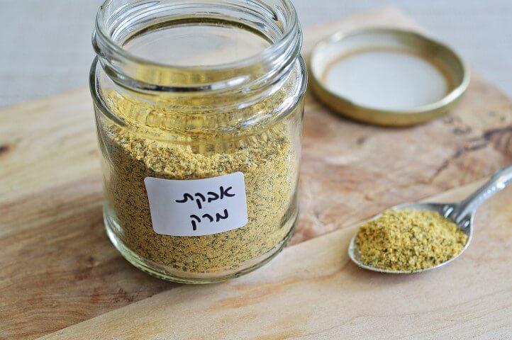 אבקת מרק ביתית
