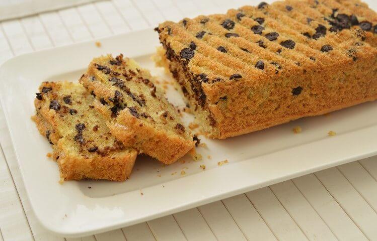 עוגת קוקוס ושוקולד צ'יפס