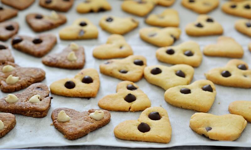 עוגיות פריכות עם שוקולד צ'יפס