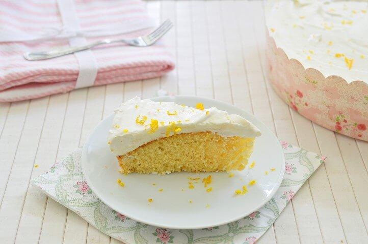 עוגת תפוזים עם קרם