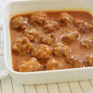 כדורי בשר ברוטב חמוץ מתוק