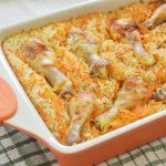 עוף ואורז בתנור