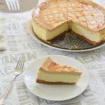 עוגת גבינה וריבת חלב