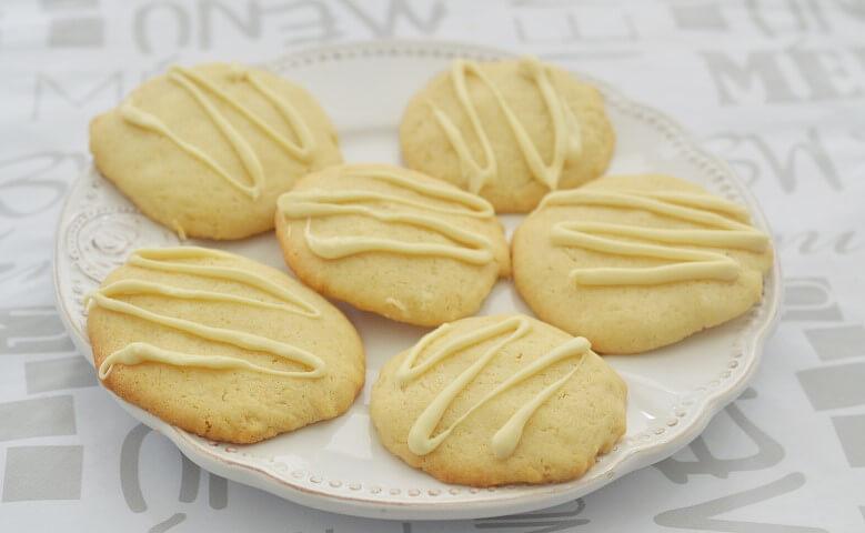 עוגיות שוקולד לבן