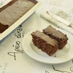 עוגת שקדים ושוקולד