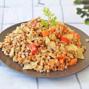 כוסמת עם ירקות
