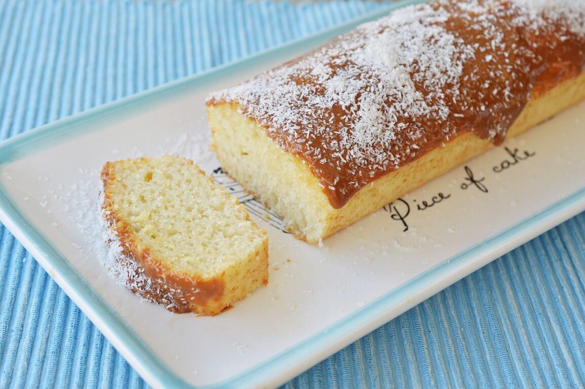 עוגת קוקוס וריבת חלב