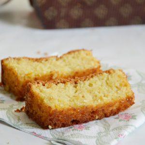 עוגה מקמח שקדים ללא סוכר