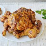 עוף שלם צלוי בתנור