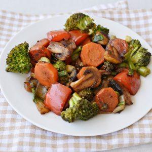 תבשיל ירקות בטריאקי