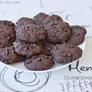 עוגיות שוקולד ויוגורט
