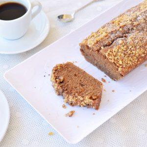 עוגת קפה ואגוזים