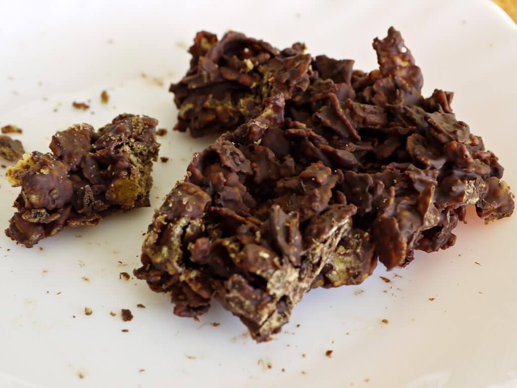 קורנפלקס מצופה שוקולד