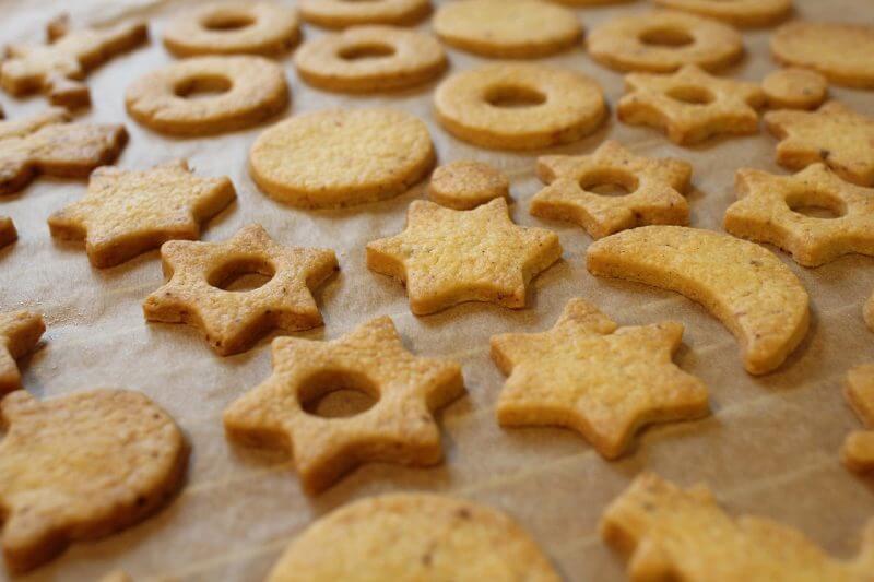 עוגיות חמאה ללא סוכר