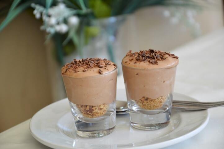 מוס שוקולד פרווה