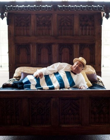 """בינו גבסו, ד""""ר שקשוקה, צילום: ישי בוטבול, באדיבות yes"""