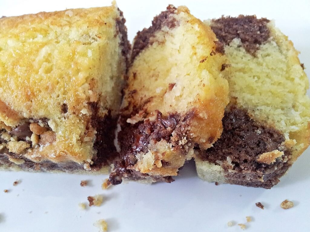 עוגת שיש, קוקוס ושוקולד צ'יפס