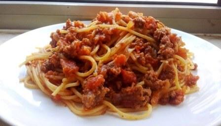 מתכון ספגטי בולונז