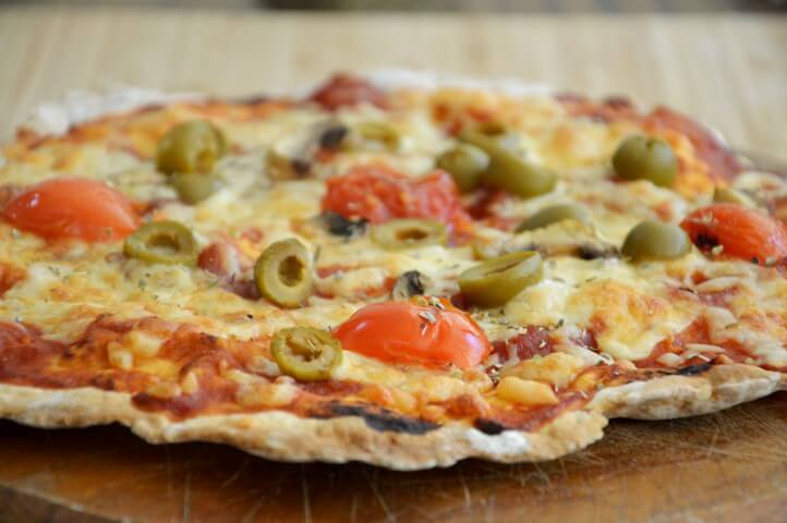 פיצה ללא שמרים