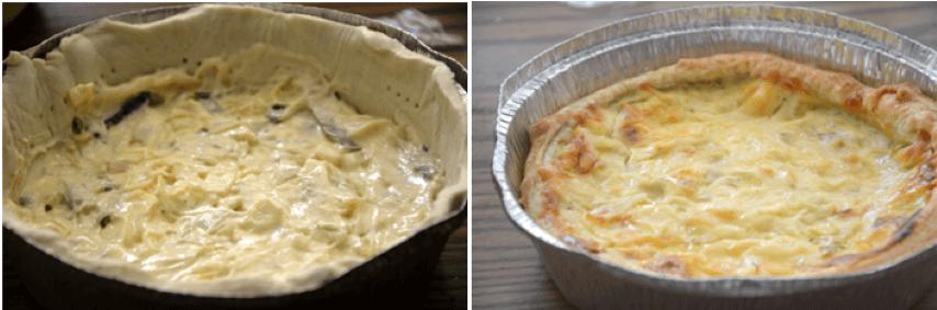 שלבי הכנה: מאפה גבינות