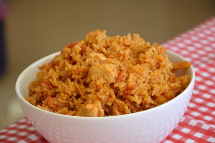 אורז עם עוף