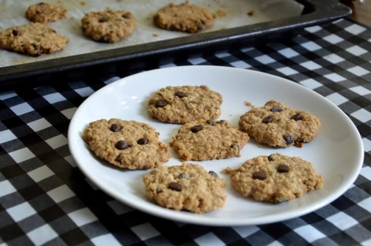 עוגיות טחינה, קוואקר ושוקולד ציפס