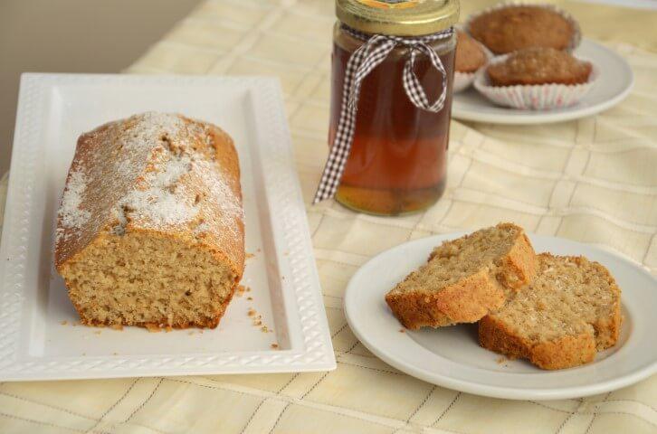 עוגת דבש, טחינה וקוקוס