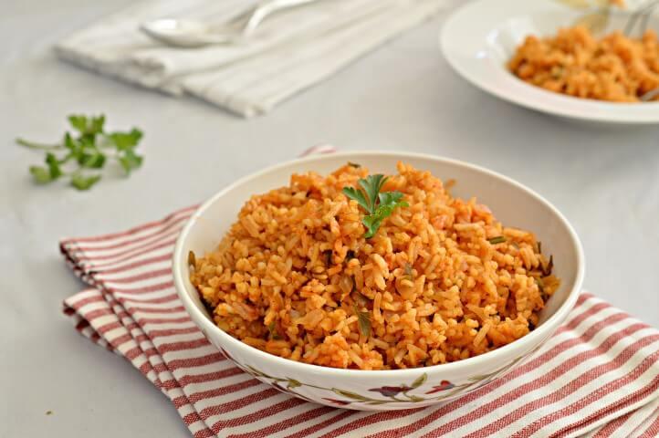 תבשיל אורז ובורגול