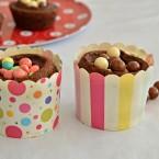 קאפקייקס שוקולד