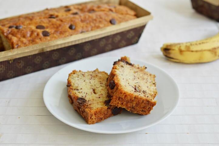 עוגת בננות טבעונית ללא גלוטן