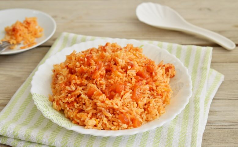 אורז ברוטב עגבניות